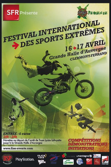 FESTIVAL INTERNATIONAL DES SPORTS EXTRÊMES !!!!