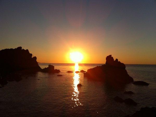 Petit lever de soleil ce matin Cap Agde