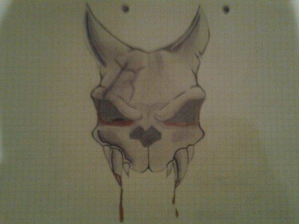 crâne de chien