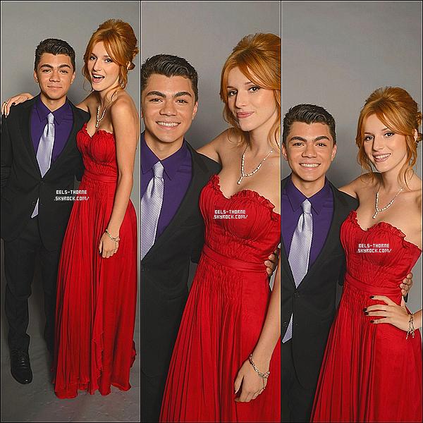 Bella et Adam Irigoyen (aka Dueuce) étaient présent aux ALMA Awards 2012.Flash back