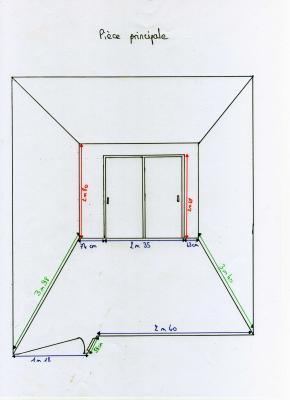 calcul des surfaces peindre la pice principale - Calcul D Une Surface A Peindre