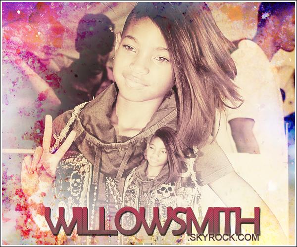 ......      Ta première source sur la star du moment Willow Smith pour suivre son actu' !    ......