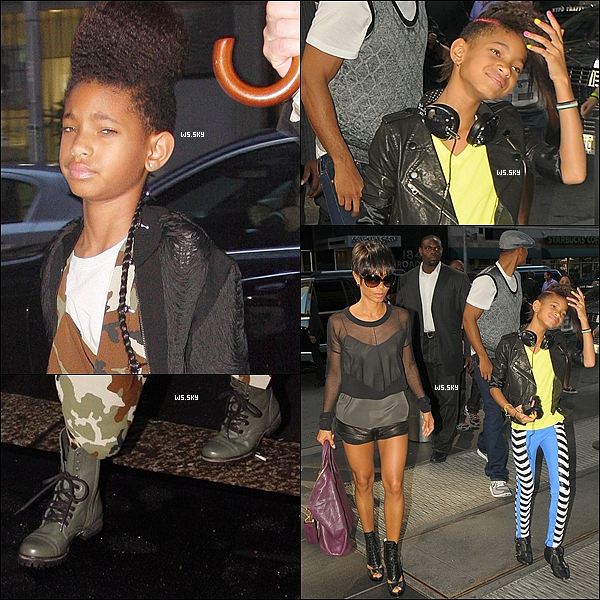 . 27 Septembre 2010 :   Willow Smith et sa famille était à une Fashion Week à Milan en Italie. .