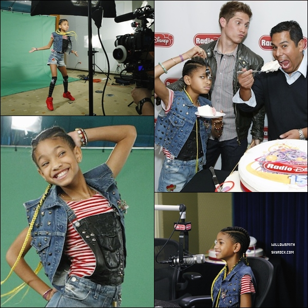. 13 Avril 2011 :   Willow Smith toute belle fêtait les 15 ans de la Radio Disney. .