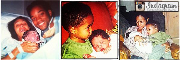 ......  Jada a posté plusieurs photos de sa famille et de Willow bébé et récente sur Instagram.   ......