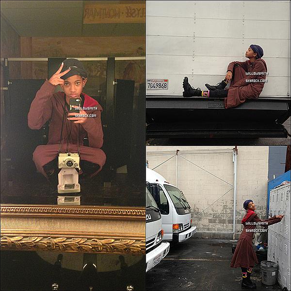 ......   Les quelques petites dernières photos personnelles posté par Willow sur son Tumblr.    ......