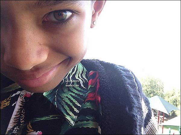 ......  Willow a posté de nouvelles photos personnelles en ce 1er février sur Tumblr.    ......