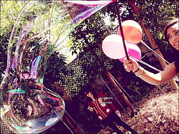 ......  Willow était a l'anniversaire de Caila les photos provienne du Instagram de Rachel.    ......