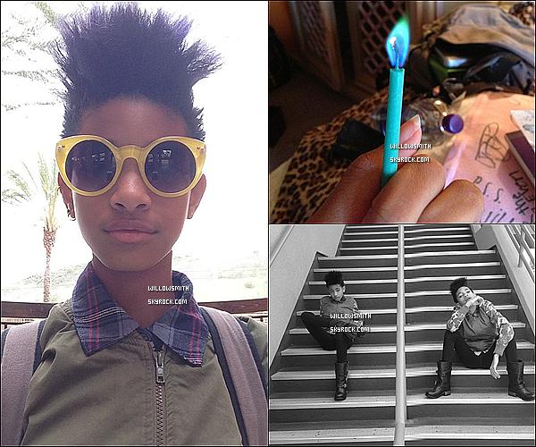 ......  Willow a posté de nouvelles photos personnelles sur Tumblr.    ......