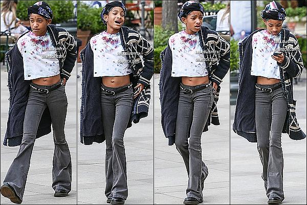 . 25/03 : Miss, Willow à été aperçue ce Lundi, avec un ami ce promenant dans les rues de Californie à Calabasas. Pour cette fois, je n'aime pas du tout sa tenue pour moi c'est un flop je n'aime pas le petit piercing sur son front. Top ou Flop?    .