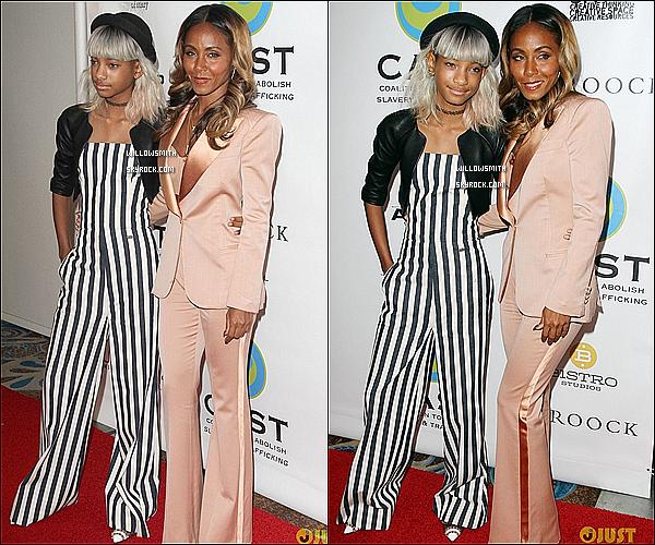 . 09/05 : Willow & Jada étaient à l'événement From Slavery to Freedom au Sofitel Hotel de Los Angeles.  Willow s'est en effet rendue hier à l'Annual 2013 From Slavery to Freedom. Pour sa tenue, j'aime pas du tout. Flop !     .