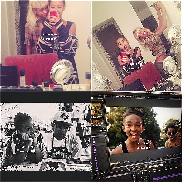 ......  Willow a posté de nouvelles photos personnelle sur son compte Instagram.    ......