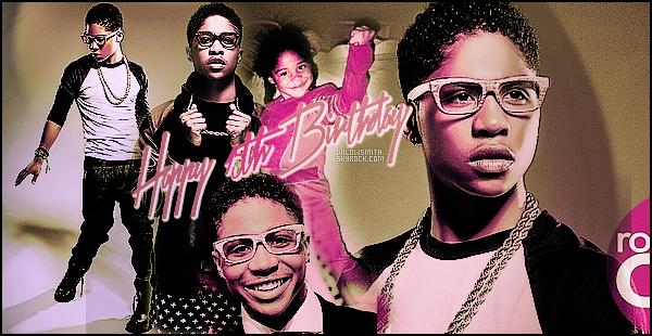 ......  Je tiens a souhaiter un joyeux anniversaire a Roc Royal des Mindless Behavior qui a fêté ses 15 ans ce 23 Juillet ! Happy Birthday a lui! ^^   ......
