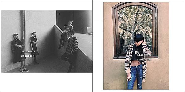 . 04/09 : Willow à été photographiée avec Sydney à l'intérieur d'un magasin à Woodland Hills, dans Los Angeles.  Willow était toute magnifique j'aime beaucoup son haut et son legging. Sa lui va à ravir je trouve je lui met un bon gros top !    .
