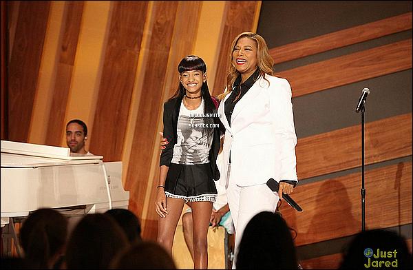 . 15/09 : Willow était hier aux répétitions du Queen Latifah Show où elle devra y faire une performance  aujourd'hui.  Willow était toute mignonne et toute contente, sa fait plaisir de retrouvé Willow sur les plateaux télévisé elle le mérite beaucoup !    .