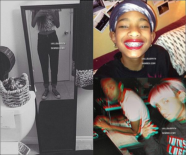 ......  Enfin des nouvelles de Willow sur les réseau sociaux, elle a posté de nouvelles photos.    ......