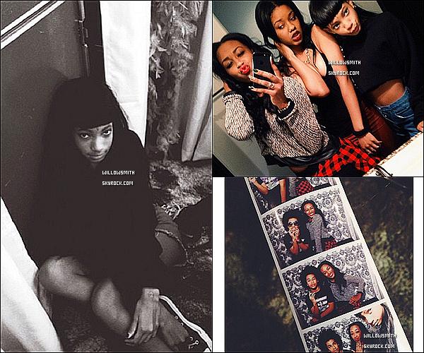 ......  Willow était à l'anniversaire de Kennedy, elle a posté pleins de photos sur Instagram  !   ......