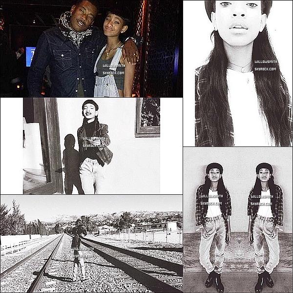 ......  Willow a posté de nouvelles photos personnels via ces comptes Instagram & Tumblr.    ......