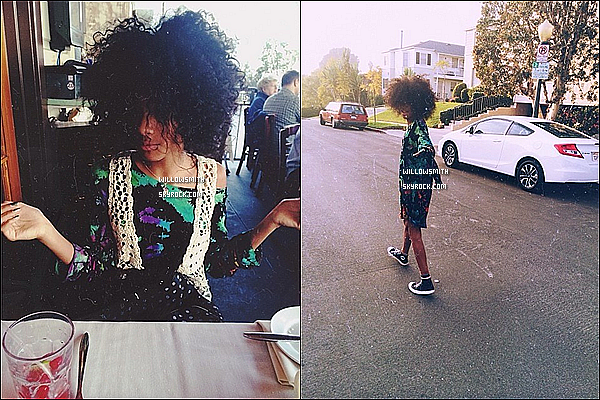 ......  → Pour ce 1/01/2014, découvrez de nouvelles photos personnels posté par Willow sur Instagram.    ......