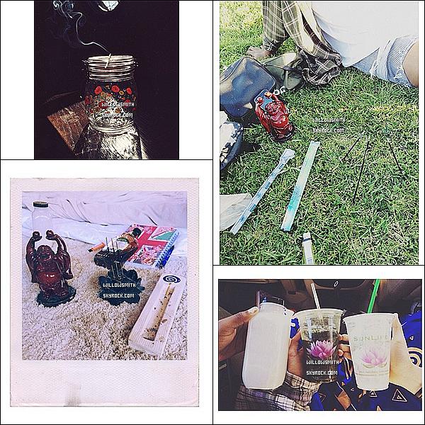 ......  Willow a posté pleins de nouvelles photos personnelles de sa journée sur son Instagram   ......
