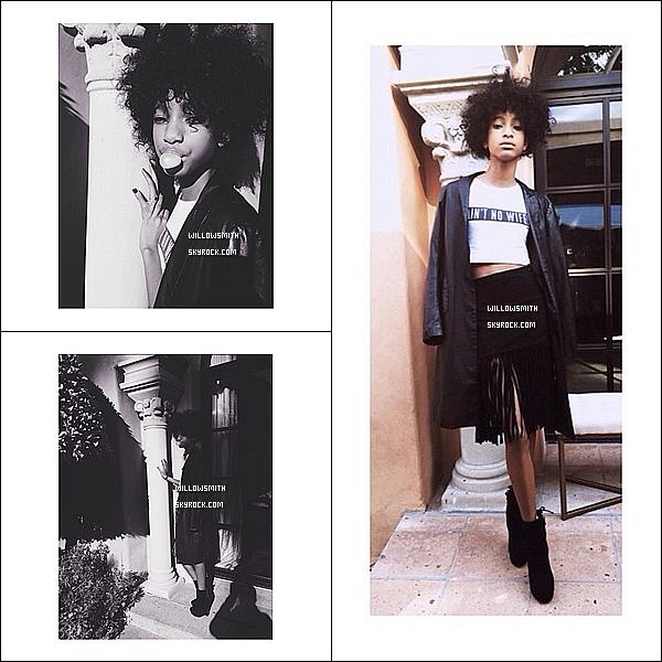. 25/01 : Willow était présente avec Jaden sur le red-carpet des Pre-Grammys Brunch organisé par Roc Nation à Los Angeles.  OMG ALORS LA JE SUIS HEUREUX ENFIN UN EVENT DE WILLOW, elle est pire que magnifique, j'aime beaucoup sa tenue  (l)   .