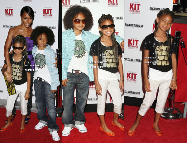 ". 18 Juin 2008 :   Willow Smith à l'avant première de ""Kit Kittredge : An American Girl"" à New-York. ."