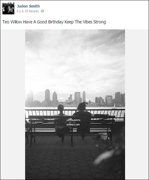 ......  → Découvrez sur cet article tout les messages posté pour l'anniversaire de Willow par sa famille.    ......