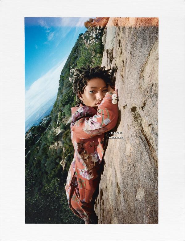 ......  Willow en couverture du « I-D Magazine » prises par le photographe Tyrone Lebon !   Willow est tellement magnifique dans ses tenues, c'est un shoot qui lui ressemble parfaitement elle est parfaite, sur chaque photos. ......
