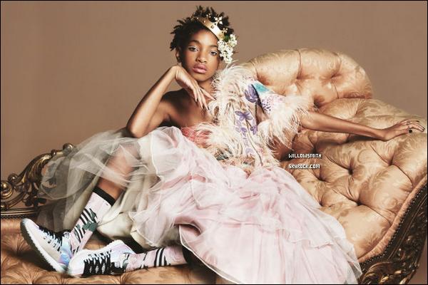 ......  Un tout nouveau et magnifique shoot de Willow où elle est l'égérie pour Stance Socks.OMG Willow est tellement magnifique sur ces photos qu'elle queen, sa collection de chausettes sera bientôt disponible d'ici quelques mois.      ......