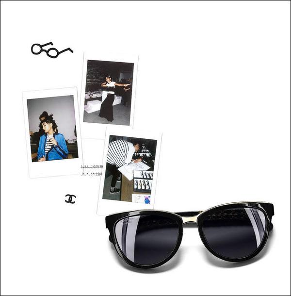 ......  Voici à nouveau d'autres photos et vidéos de notre belle égérie « Chanel » sur la toile !  Les clichées de Willow pour Chanel ne finissent plus de pleuvoir haha, une nouvelle fois elle est captivante sur les photos, j'adore cette campagne !!     ......