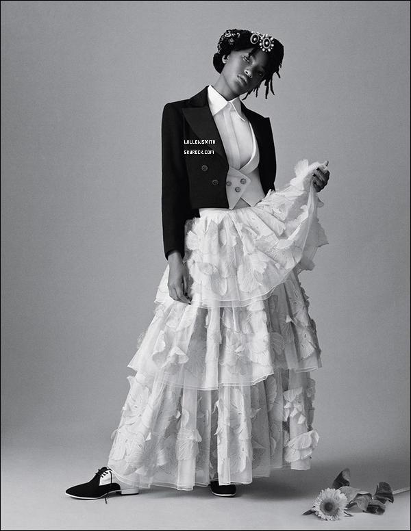 ......  Découvrez finalement le photoshoot de Willow pour « DAZED » en HQ et l'interview ..! Voici ci dessous de nouvelles photos de Willow pour le magazine venant d'apparaître + l'interview accordée pour la revue par Amandla Stenberg ...!     ......