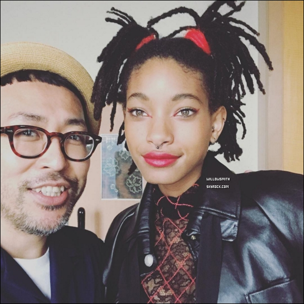 """. 31/05 : Willow s'est rendue à la soirée """"CHANEL Metier D'art Collection Paris Cosmopolite Show"""" à Tokyo au Japon.  En effet, étant une égérie Chanel c'est sans surprise que Willow a répondue présente a cet soirée spéciale. Elle était magnifique !       ."""