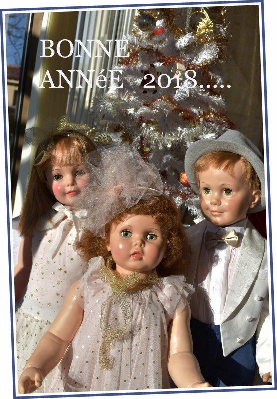 JE VOUS SOUHAITE UNE TRèS BONNE ANNéE 2018 AINSI QU'UNE BONNE SANTé ...