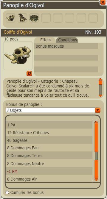 Les panoplies de la version 2.6