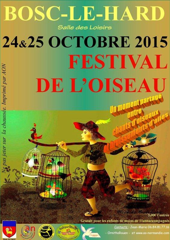 Festival de l'oiseau cette semaine à Bosc-le-hard  76