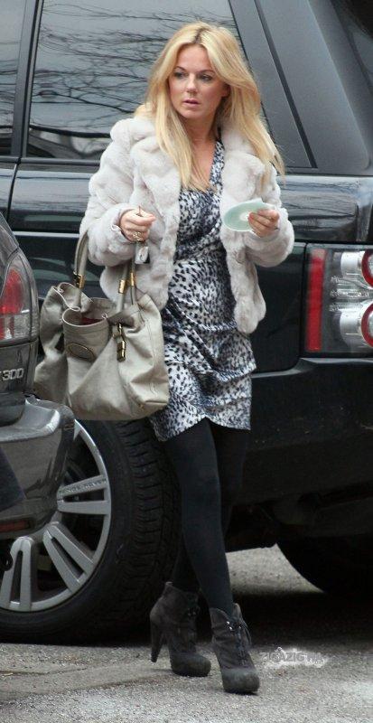 Geri Halliwell - Universal Studios - London - 31.01.2011