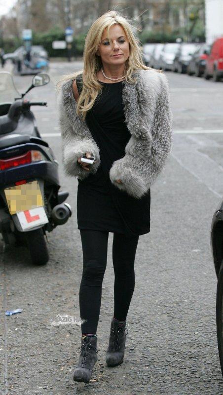 Geri Halliwell - London - 04.02.2011