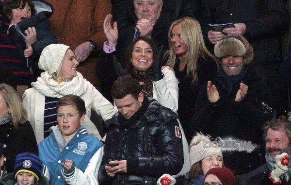 Geri Halliwell - London - Chelsea v Manchester United game - 01.03.2011