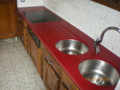 Blog de granitset page 85 granitset - Plan de travail quartz rouge ...