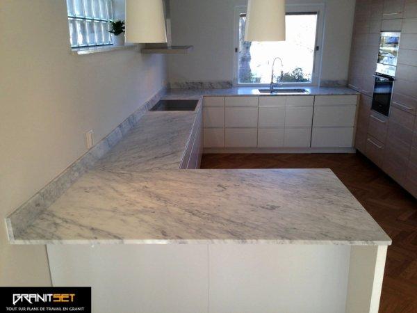 Articles de granitset tagg s plan de travail marbre for Plan travail marbre