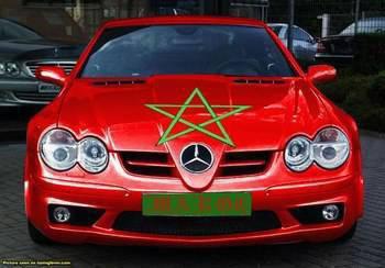mercdes  maroc