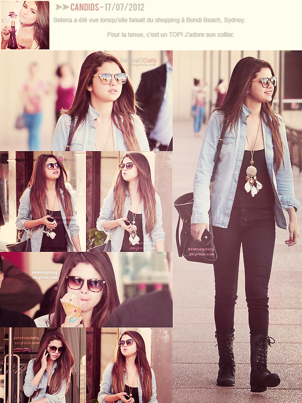 ∞ ‏Selly en Australie.
