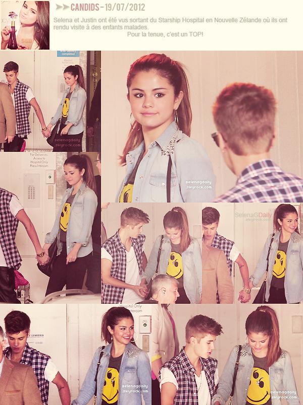 ∞ Selena en Nouvelle Zélande.