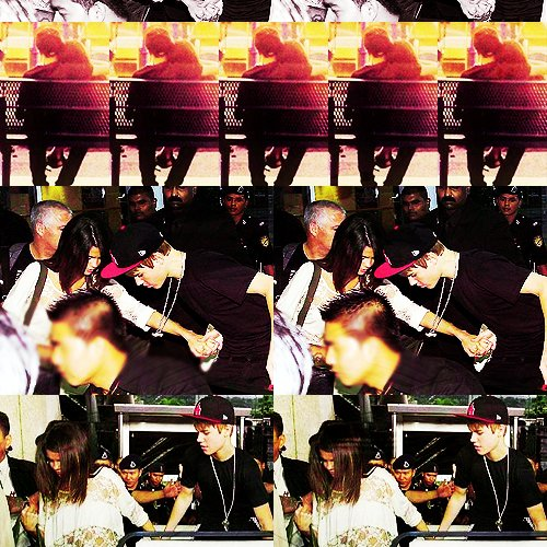 Selena a rejoins Justin en Asie !