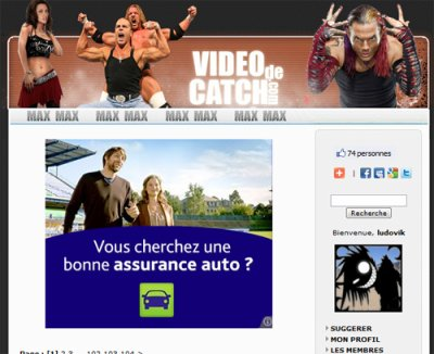 """Le site """"videodecatch.com"""""""