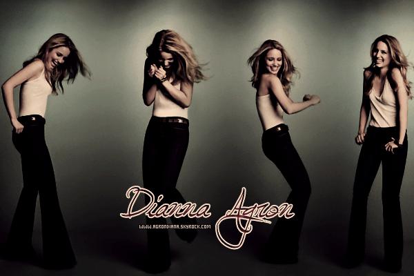 *Bienvenue sur AgronDiana, ta source sur toute l'actualité de Dianna Agron ! *