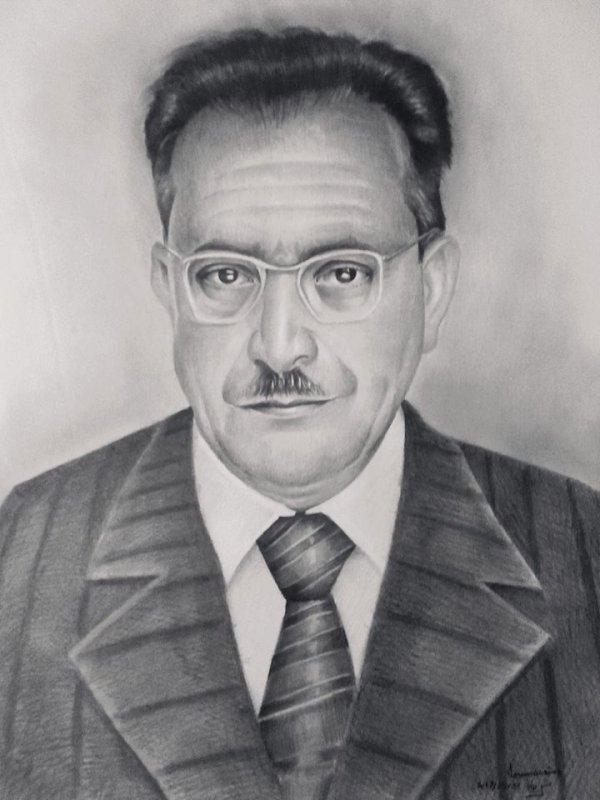 portrait: Mouloud Feraoun