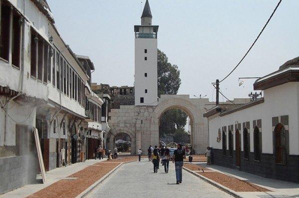 The Eastern Gate In Damascus . الباب الشرقي في دمشق /سوريا