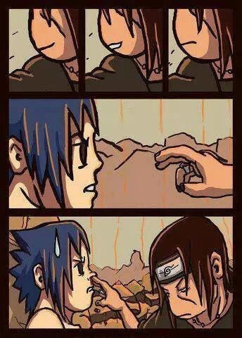 mdr itachi et sasuke