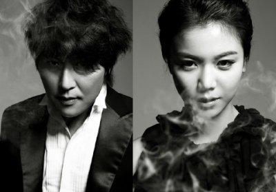 Song kang-ho & Kim ok-bin